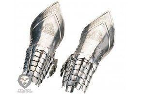 Перчатки рыцарские Marto M/942 с гравировкой (сталь)