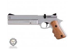 Пневматический пистолет Ataman АР16 компакт металл Silver (5.5 мм, PCP)