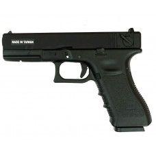 Страйкбольный пистолет KJW G18 (CO2, Glock 18)