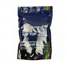 Шарики для страйкбола AIM TOP 0,30 (3300 шт., белые, пакет)