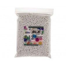 Шарики для страйкбола BLS 0.12 (5000 шт., белые, 1кг. пакет)