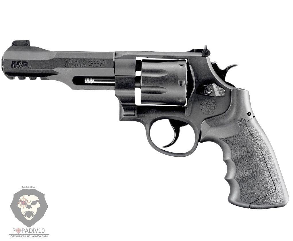 Пневматический револьвер Umarex S&W Military&Police R8