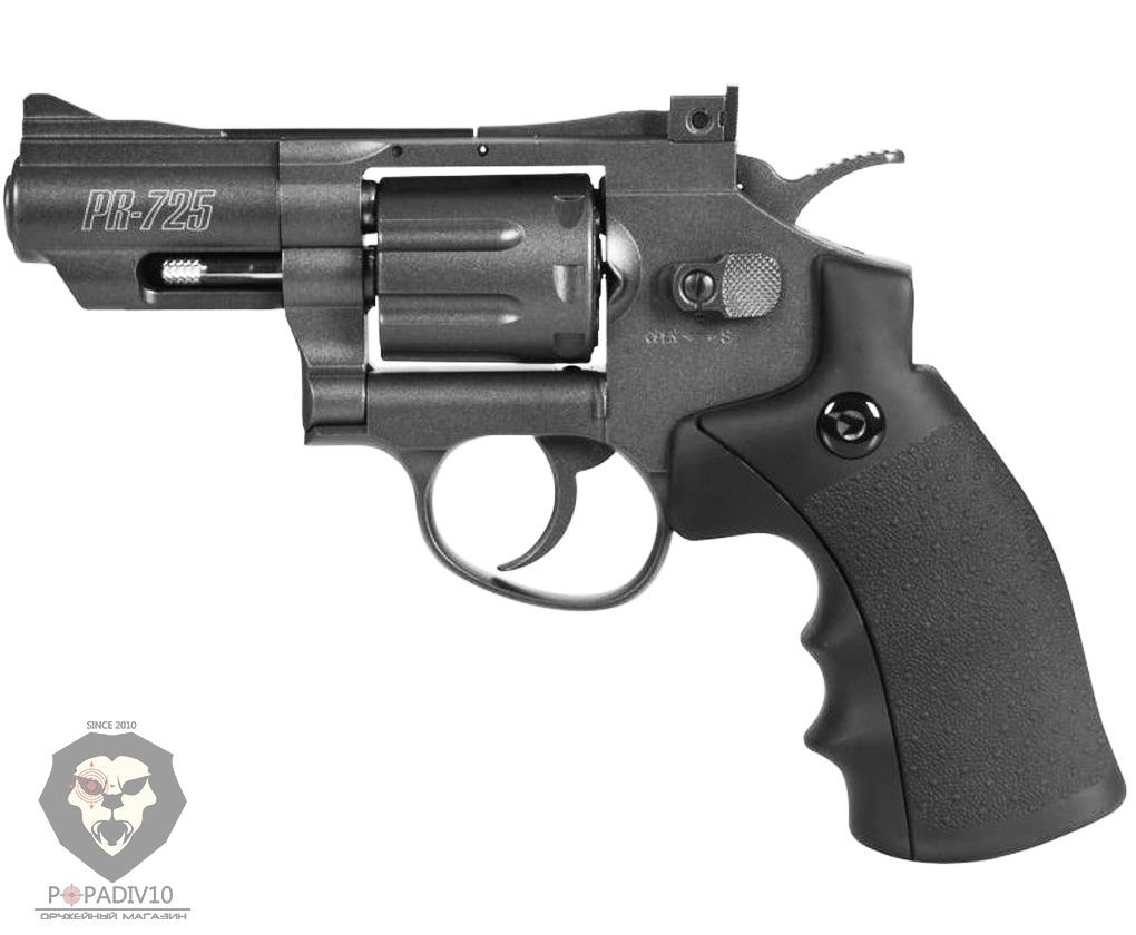 Пневматический револьвер Gamo PR-725 (Smith & Wesson)