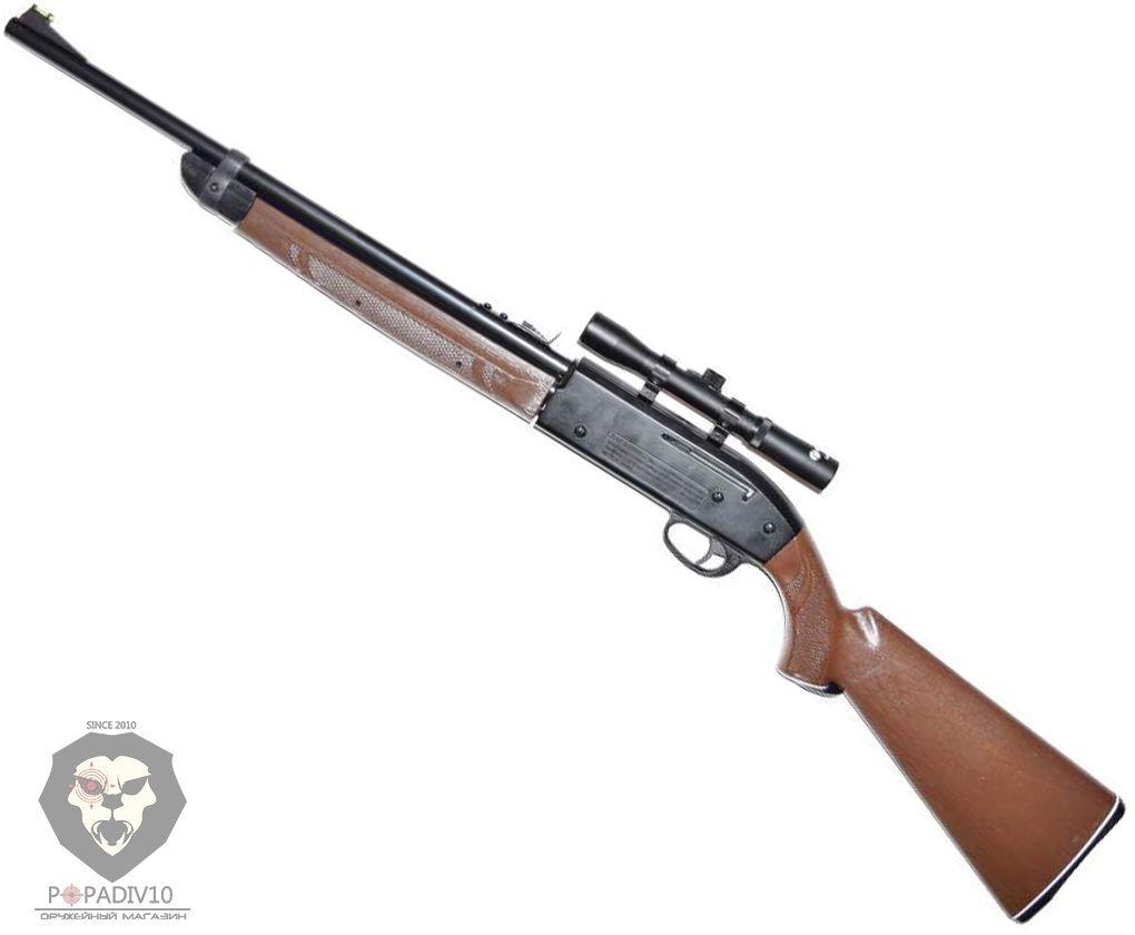 Пневматическая винтовка Crosman 2100 B (прицел 4х15)