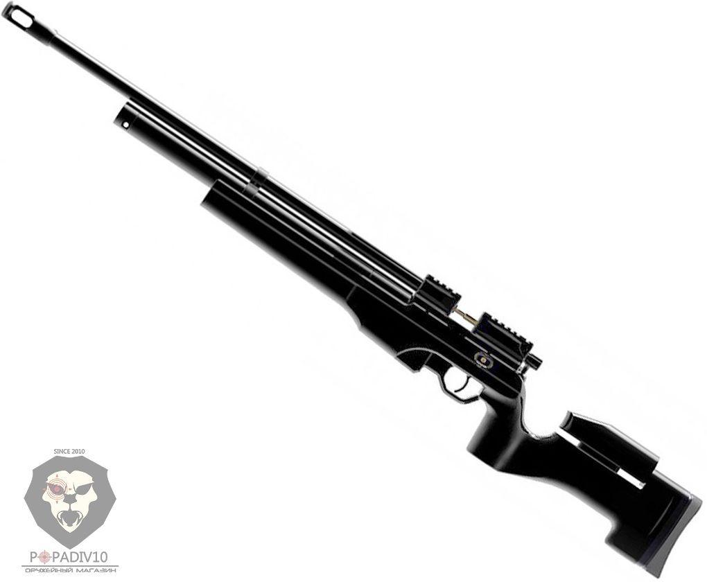 Пневматическая винтовка Ataman M2R Tactical Carbine 226/RB (6.35 мм, PCP, черная)
