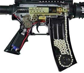 Страйкбольное оружие системы AEG